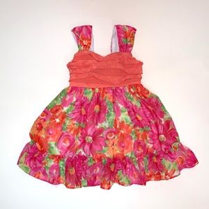 Youngland Toddler Girl Floral Dress Size 2 T
